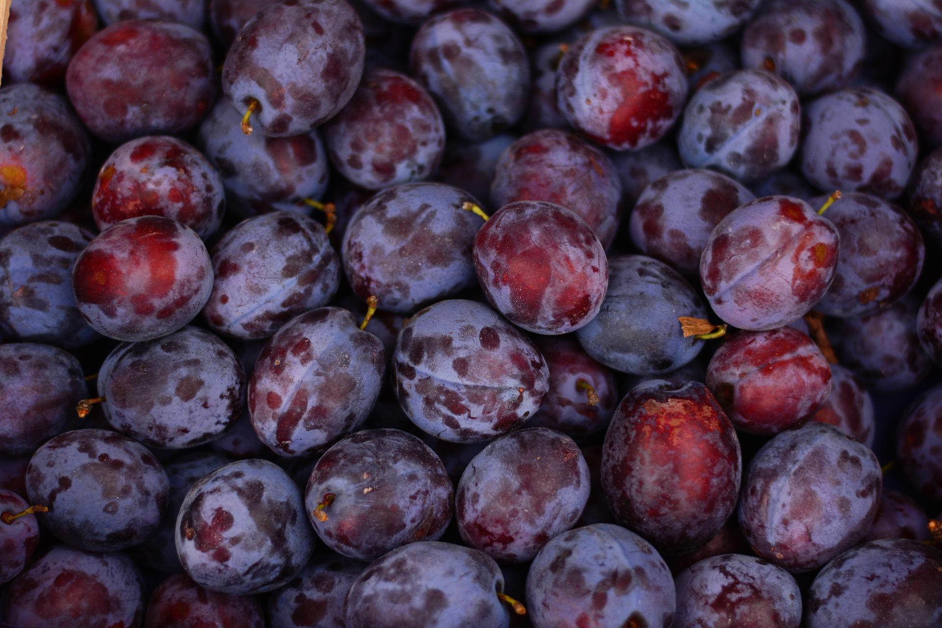 consumul de prune